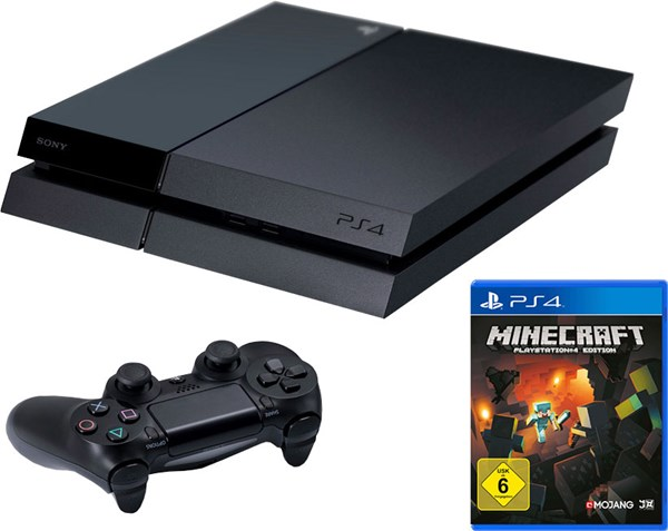 Hình của PlayStation 4 Minecraft Bundle